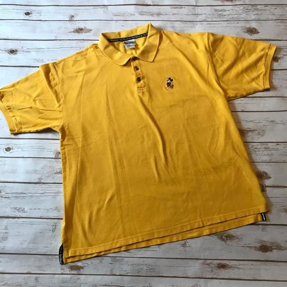b0c66d40 Walt Disney World Shirts | Yellow Disney Mickey Mouse Polo Shirt ...
